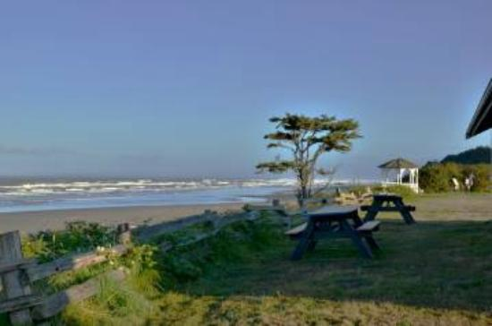 Kalaloch Lodge: From the front porch