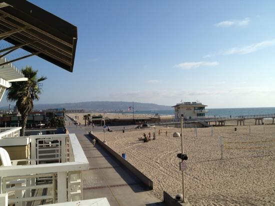 Beach House Hotel Hermosa Beach: view from balcony