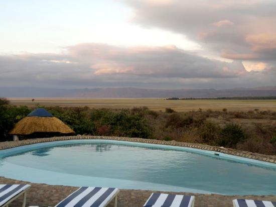 Manyara Wildlife Safari Camp: vistas