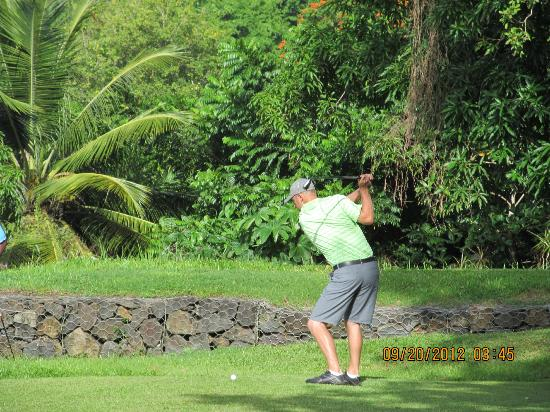 Sandals Regency La Toc Golf Resort and Spa: Golf Course at La Toc, pretty and challenging