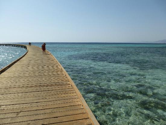 Sheraton Soma Bay Resort: jetty