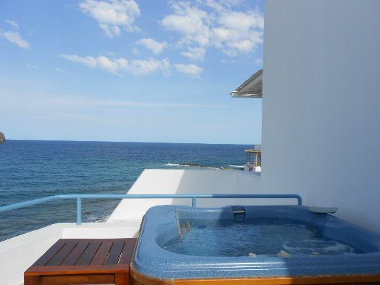 Melian Boutique Hotel & Spa: view from honeymoon suite