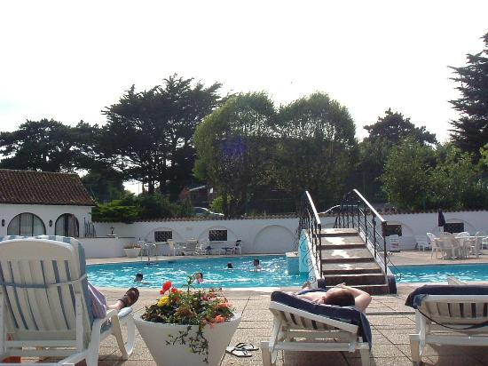 The Belmont Hotel: View from my sunbed!