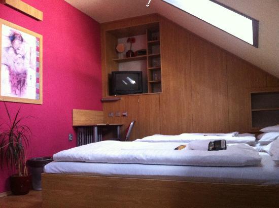 Hotel Plzen: Mein gemütliches Zimmer