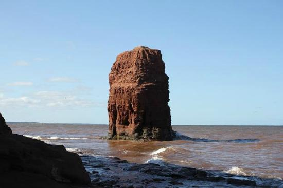 Tignish, Canada: Elephant rock