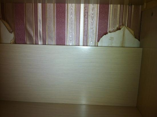 Ost-Vest City Hotel: wall paper comes off