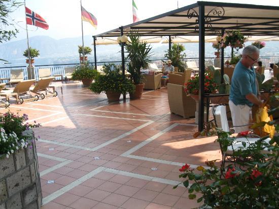 Hotel Bristol: sun deck