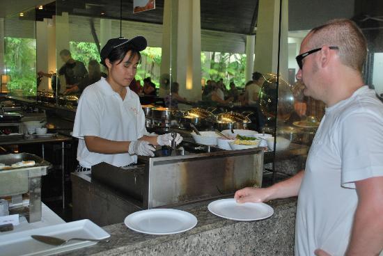 Centara Karon Resort Phuket: Fresh Omelets