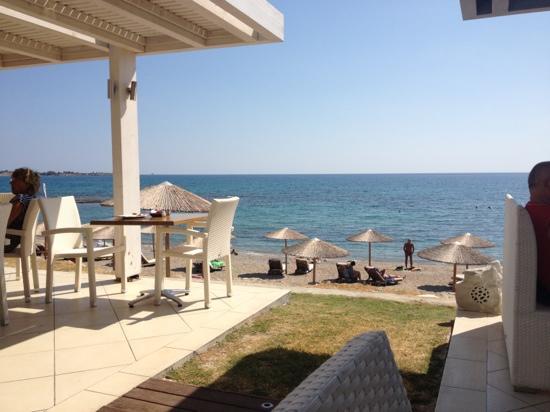 Sunrise Hotel: dining area with sea views- stunning