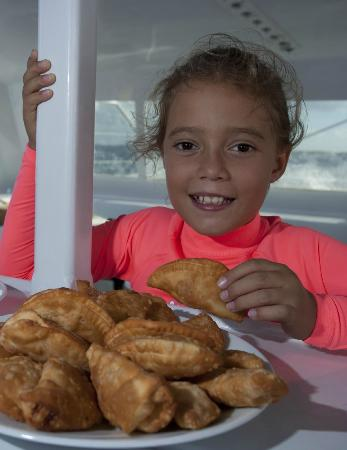 Red Sail Sports Aruba: A local delicacy: Pastechi