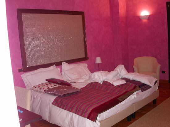 la mia stanza dell'Hotel Cristallo