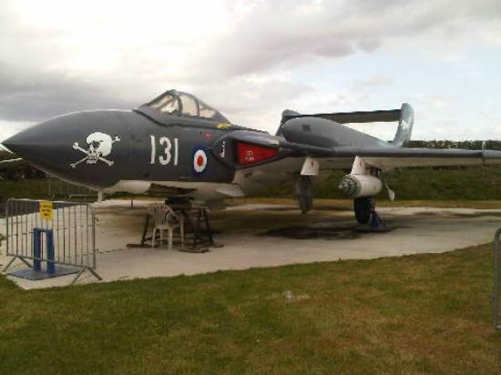 Tangmere Military Aviation Museum: Sea Vixen