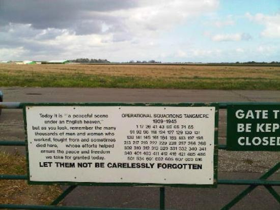 Tangmere Military Aviation Museum: The airfield as it is today