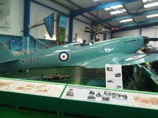 Tangmere Military Aviation Museum: Spitfire Prototype reconstruction