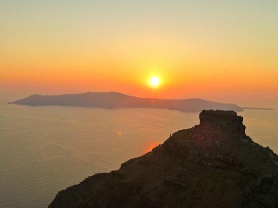 Honeymoon Petra Villas : the sunsets