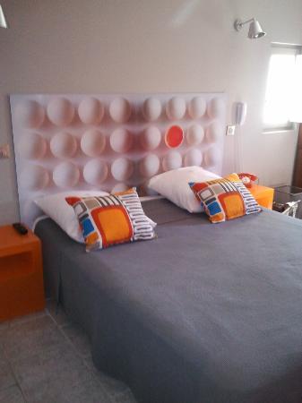 Hôtel La Suite : la chambre orange!!!