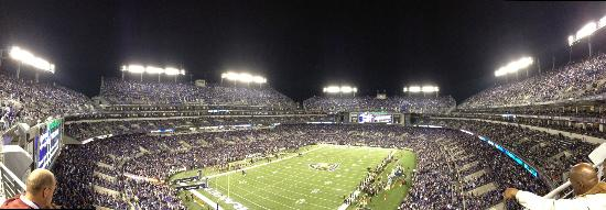 M&T Bank Stadium: Panoramic from the top row