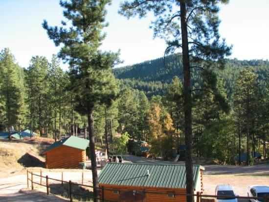 Holy Smoke Resort: Another view from cabin