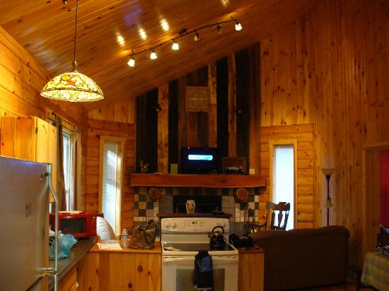 Springwood Cabins : Living room