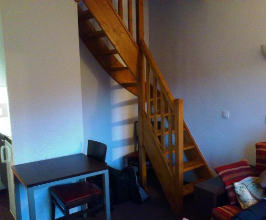 Adagio Access Grenoble: 'Interesting' staircase