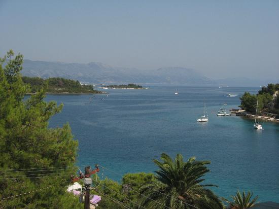 Captain's Villa Sokol: balcony view