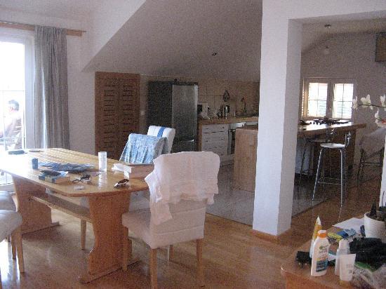 Captain's Villa Sokol: living room