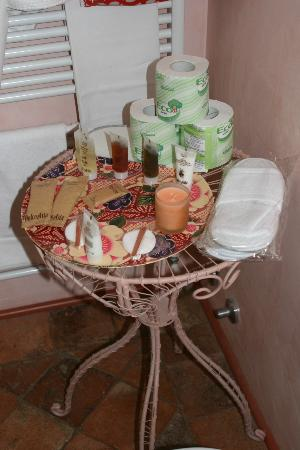 Palazzo Rocchi: Toiletries provided