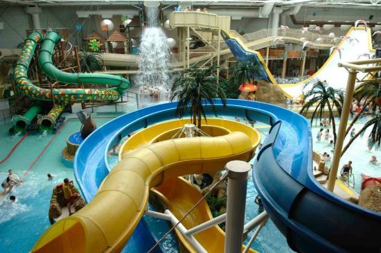 Sandcastle Waterpark: Inside!