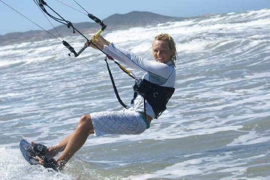 Casa Nora: Guest kitesurfing