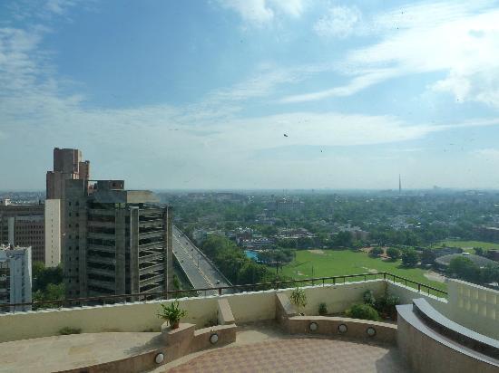 The Hans New Delhi: Blick nach Old Delhi