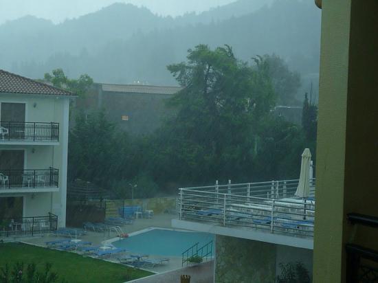 Katerina Palace Hotel: not allways dry!