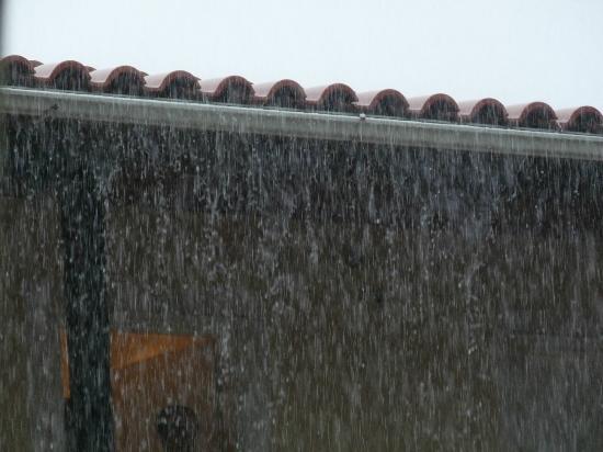 Katerina Palace Hotel: wet!!