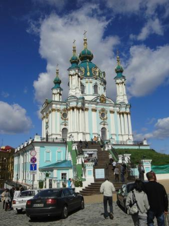 Oselya Kiev : One of kievs beautiful churches