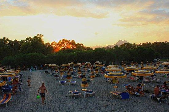 Villapiana, إيطاليا: Tramonto alla Baia degli Angeli 