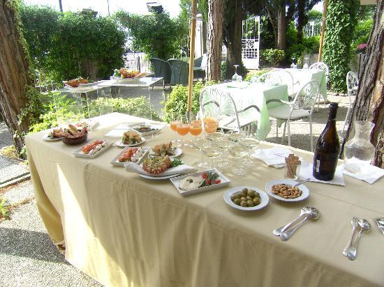 Hotel Villa Mabapa: Cena Garten