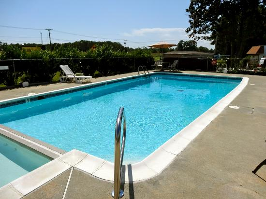 The Whispering Pines Motel: Outdoor Pool