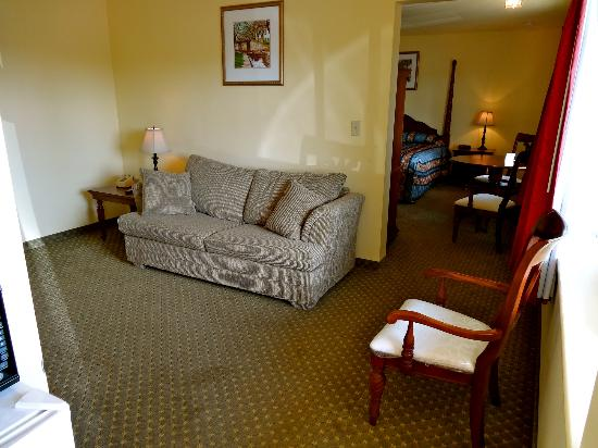 The Whispering Pines Motel: King Size Suite