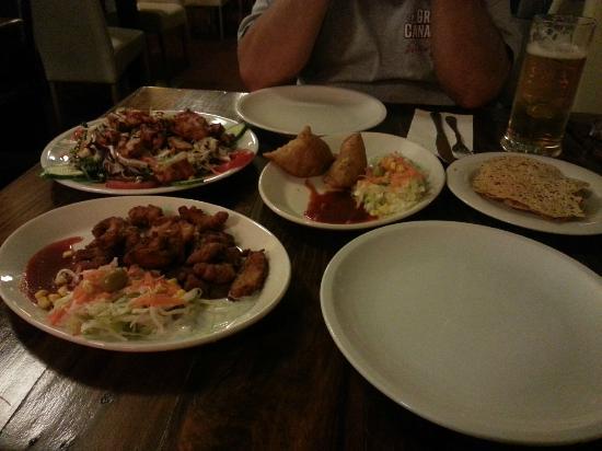 BOMBAY: Great food