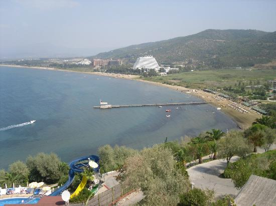 Labranda Ephesus Princess: View across the bay