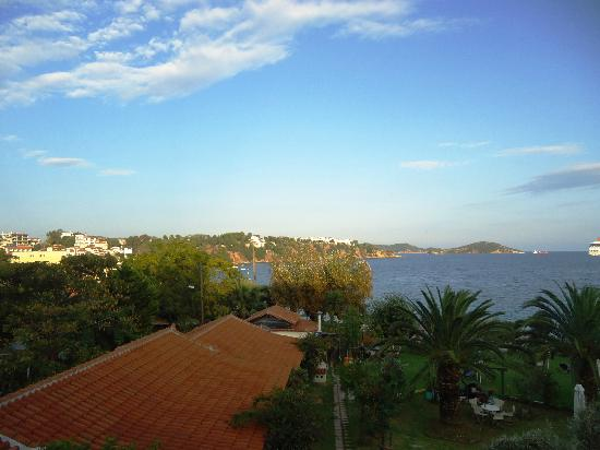 Angeliki Beach Hotel: View from room 102