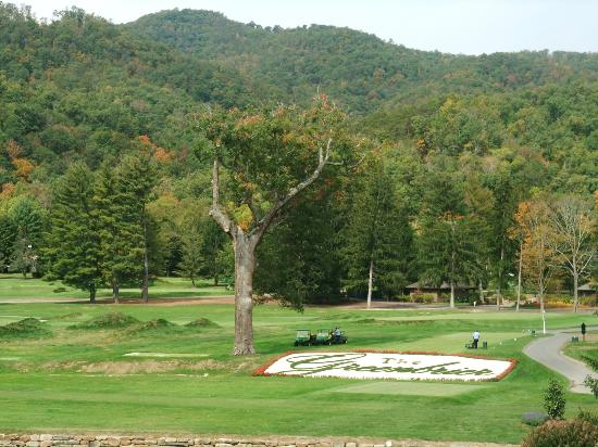 The Greenbrier: The golf course