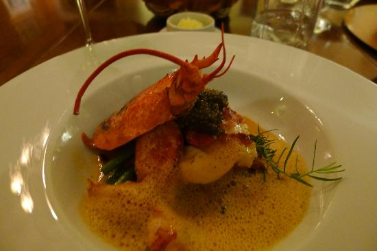 Kingsbrae Arms: entree