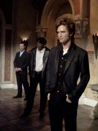 Madame Tussauds New York : Robert Pattinson, Samuel L Jackson, and John Travolta