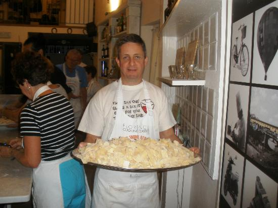 FlorenceTown: The pasta ready to be cooked