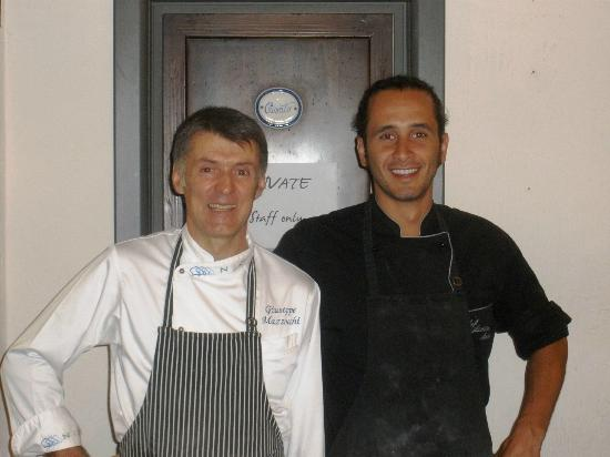 FlorenceTown: Chefs Guiseppe and Andrea