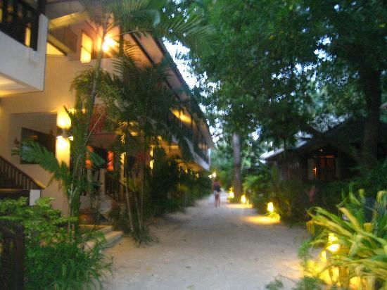 Chaweng Garden Beach Resort: territory