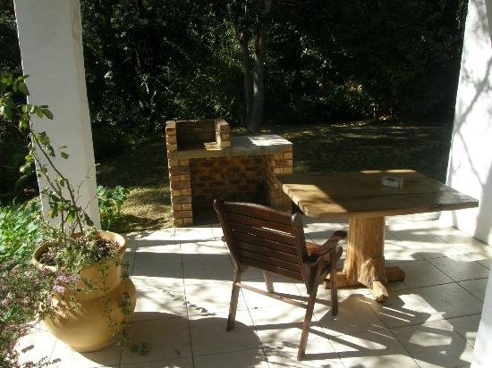 Masescha Country Estate: braai facilities