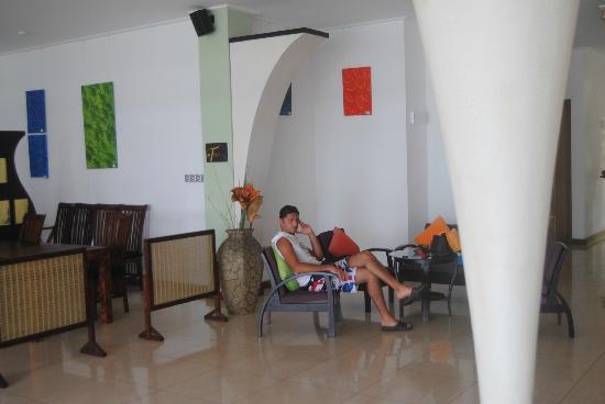 DoubleTree by Hilton Seychelles Allamanda Resort & Spa : Hall RISTORANTE