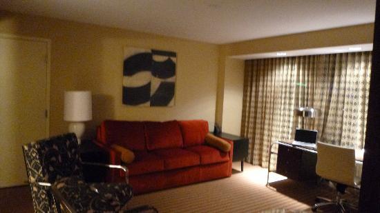 Hilton Omaha: soggiorno