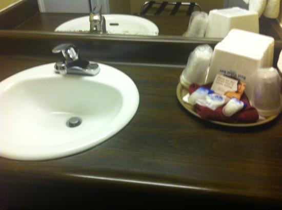 Americas Best Value Inn - Casino Center Lake Tahoe: bathroom